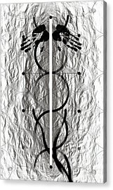 Caduceus Acrylic Print