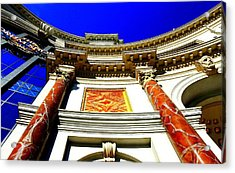 Caesars Palace Architecture Acrylic Print by Linda Edgecomb
