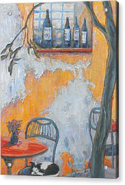 Cafe After Hours Acrylic Print