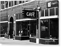 Acrylic Print featuring the photograph Cafe by Lawrence Burry