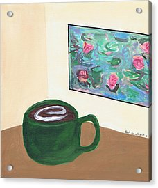 Cafe Monet Acrylic Print