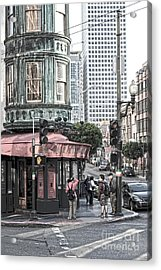 Cafe Zoetrope  Acrylic Print by Artist and Photographer Laura Wrede