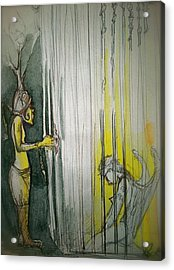 Caged Creature Of God Acrylic Print