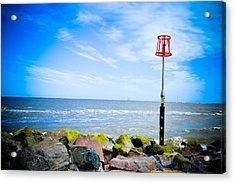 Caister On Sea Acrylic Print by Ruth MacLeod