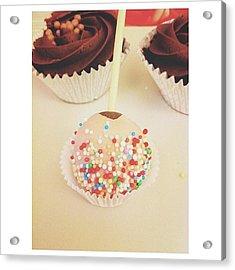 Cake Pop Acrylic Print