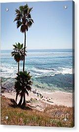 California Coastline Photo Acrylic Print by Paul Velgos