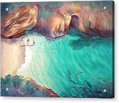 California Dreaming Acrylic Print by Karin  Leonard
