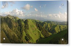 Acrylic Print featuring the photograph California Mountains Dreaming by Gregory Scott