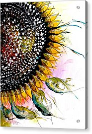 California Sunflower Acrylic Print