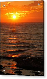 California Sunset Acrylic Print by Coby Cooper