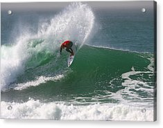 California Surfing 3 Acrylic Print by Larry Marshall