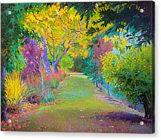 Calistoga Fall Acrylic Print
