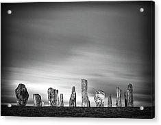 Callanish Standing Stones Acrylic Print by Doug Chinnery