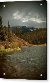 Calm Before The Storm Acrylic Print by Joyce Specht