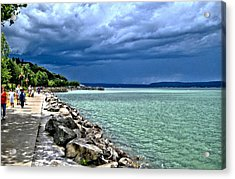 Calm Before The Storm Acrylic Print by Rob Green