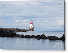 Calm Light Acrylic Print by Whispering Feather Gallery