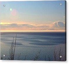 Acrylic Print featuring the photograph Calm Sea by Michele Cornelius