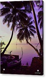 Calm Acrylic Print by Vinod Nair