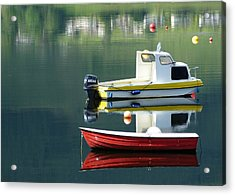 Acrylic Print featuring the photograph Calm Waters by Lynn Bolt