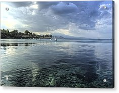Calm Waters Acrylic Print by Stamatis Gr