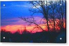Calming Skies II A Acrylic Print