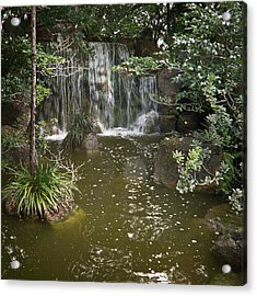 Calming Waterfall Acrylic Print
