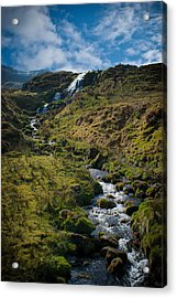 Calmness At The Falls Acrylic Print by Chris Boulton