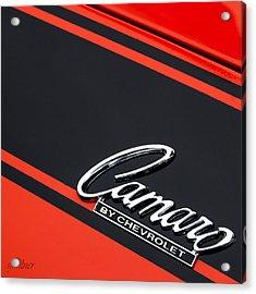 Camaro By Chevrolet Acrylic Print by Steven Milner