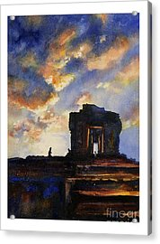 Cambodian Sunset Acrylic Print by Ryan Fox