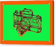Camera 1c Acrylic Print by Mauro Celotti