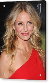 Cameron Diaz At Arrivals For The Green Acrylic Print by Everett