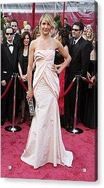 Cameron Diaz Wearing A Christian Dior Acrylic Print by Everett