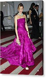 Cameron Diaz Wearing Christian Dior Acrylic Print by Everett