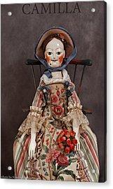 Camilla Acrylic Print by Vita Soyka