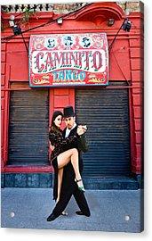 Caminito Tango Acrylic Print