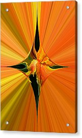 Cana Lily In Hyperdrive Acrylic Print