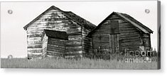 Acrylic Print featuring the photograph Canadian Barns by Jerry Fornarotto