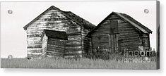 Canadian Barns Acrylic Print by Jerry Fornarotto