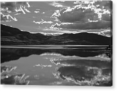 Canadian Lake 1455 Acrylic Print by Larry Roberson