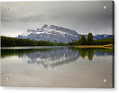 Canadian Lake 1733 Acrylic Print by Larry Roberson