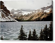 Canadian Lake 1899 Acrylic Print by Larry Roberson