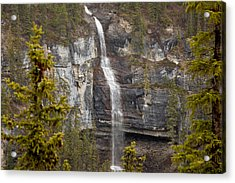 Canadian Water Fall 1908 Acrylic Print by Larry Roberson