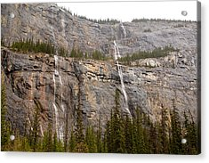 Canadian Water Fall 1924 Acrylic Print by Larry Roberson