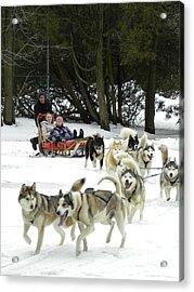 Canadian Winter Acrylic Print