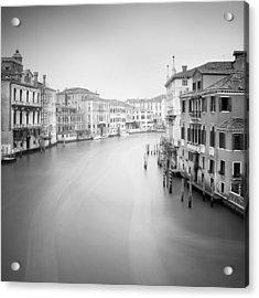Canal Grande Study II Acrylic Print by Nina Papiorek