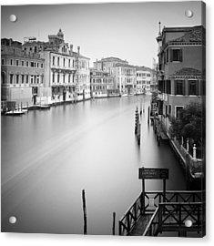 Canal Grande Study Iv Acrylic Print