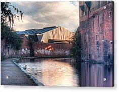 Canal Walk Acrylic Print by Rimantas Vaiciulis
