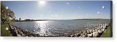 Acrylic Print featuring the photograph Canandaigua Lake Panorama by William Norton