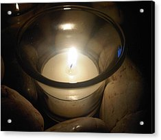 Candle For A Friend Acrylic Print by Michael Merry