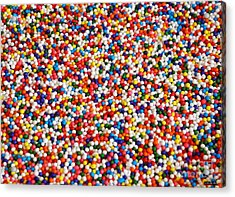 Candy Balls Acrylic Print by Methune Hively